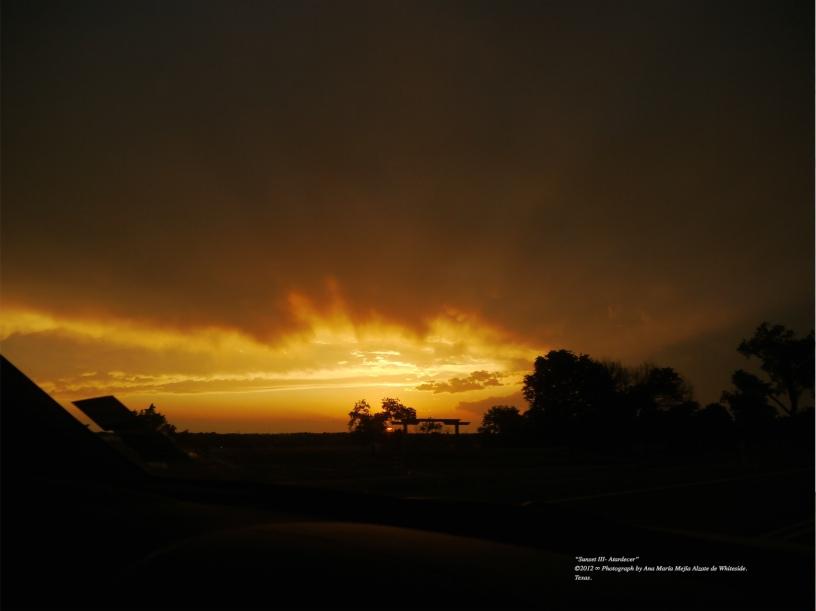 ©2011 ∞ Photograph by Ana María Mejía Alzate de Whiteside. Texas and Oklahoma.