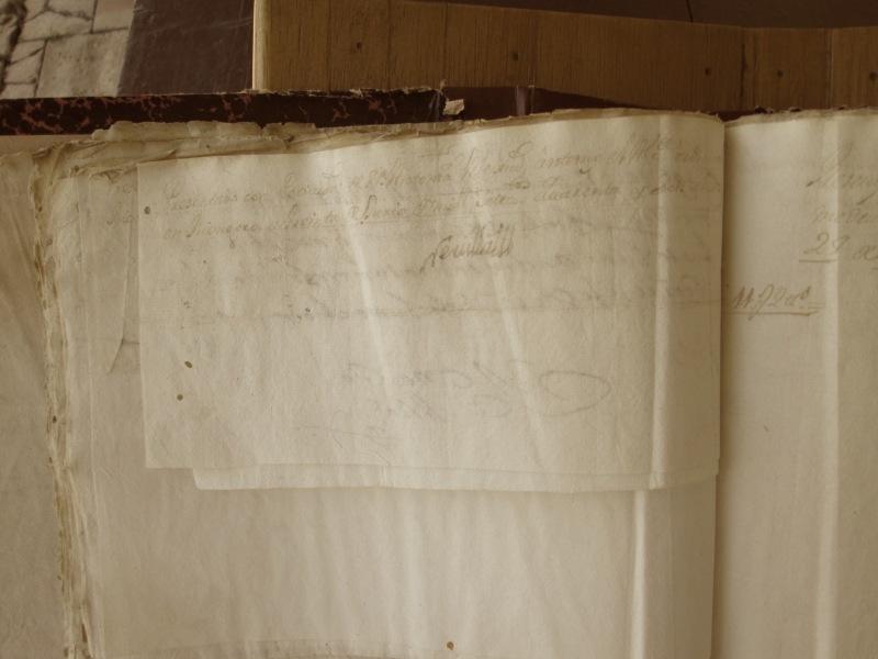 [Folio 22v] Presentado con petición de doña Antonia Mejía, ante mí el Alcalde ordinario en Rionegro a treinta de junio de mil setecientos cuarenta y seis años. / Rivillas