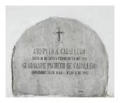 Crispulo A Caballero y Guadalupe Pacheco De Caballero
