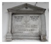 Tumba del General Federico Tovar Ibañez - Isabel Tovar Borda