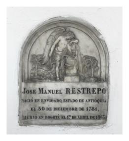 Tumba de José Manuel Restrepo