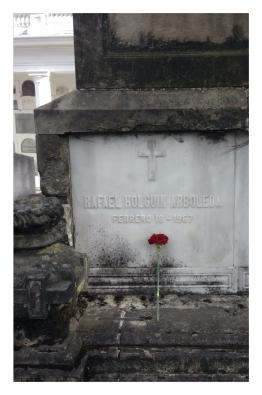 Tumba de Rafael Holguin Arboleda