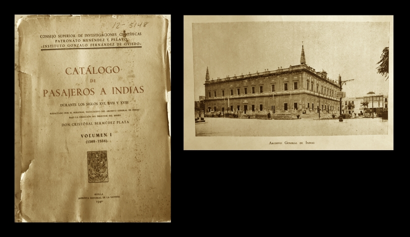 Catálogo de pasajeros a Indias
