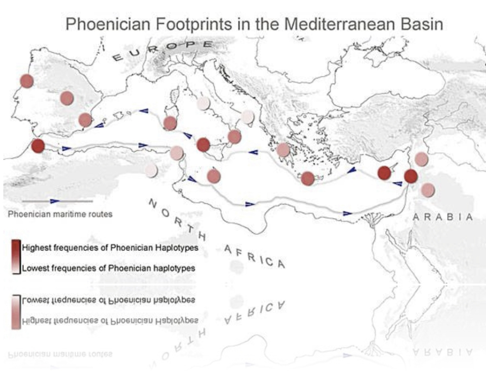 Huellas Fenicias en la región Mediterránea