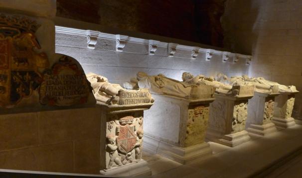 Panteón real de los Reyes de Nájera-Pamplona.